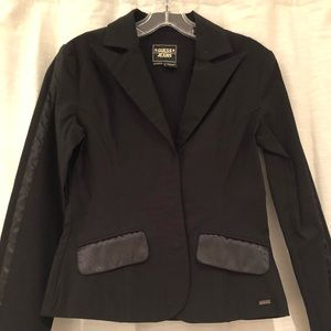 Guess black stretch blazer